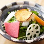 ヨシモリ - 自慢の鶏を引き立てる野菜もこだわりの逸品ばかり