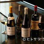 鉄板焼 一徹 - シニアソムリエ厳選の『ワイン』