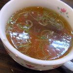 レストハウスリッキーズ - スープ