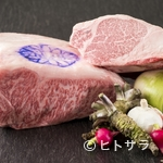 鉄板焼 一徹 - 世界的な食材。繊細な霜降り『神戸ビーフ』
