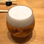 SUSHI TOKYO TEN、 - 生ビール