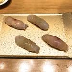 SUSHI TOKYO TEN、 - ホウボウ、鰆
