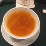 つくば 樓外樓 - 蟹肉入りフカヒレのスープ