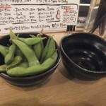 大衆馬肉酒場 ジョッキー - 枝豆(2018.1.22)