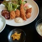 きらら - 料理写真:ミックス定食A
