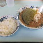 札幌ラーメンユキンコ - 味噌ラーメン+ライス2018.03.01