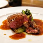 キャトルラパン 神戸三宮 - ☆メイン肉料理 牛フィレ肉