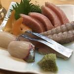 幸寿司 - お造り盛り合わせ