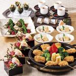 新宿 かなえ - 春野菜石焼きコース4,500円(お料理のみ)