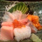 壱岐寿司 - 刺身盛り合わせ