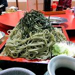 喜味屋食堂 - ざるそばセット(大盛り)