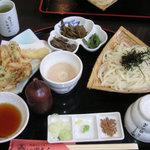 田丸屋 - 三楽御膳(二色汁)(1680円)