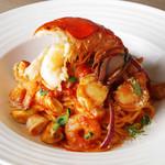 セストセンソ - スパゲティ 銀座ナポリタン オマール海老のトマトソース