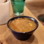 CAFE すずなり - 玉ねぎのミニスープ