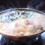 か虎屋 - 当店自慢の『もつ鍋』