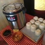 タパスブランコ - スープ派味噌汁。