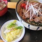 九段てっぺいちゃん - 新鮮ハラミ丼