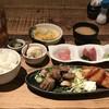 Umaimonkikoumaguroya - 料理写真:本日のお得な定食