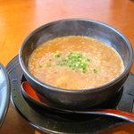 らーめん神月 - 濃厚魚介つけ麺