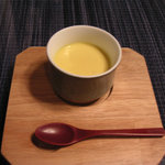洋風旅館 ぴのん - お口直し かぼちゃのスープ