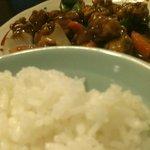 天福居 - ご飯と酢豚