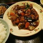 天福居 - 酢豚定食☆860円
