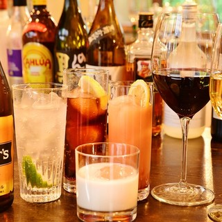 ◇カクテル、ウィスキー、ワイン豊富に取り揃えております◇