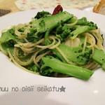 トッツォ - 料理写真:もろブロッコリー(笑)ブロッコリーのパスタ