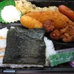福まる弁当 - 料理写真:めんたいのりから弁当370円
