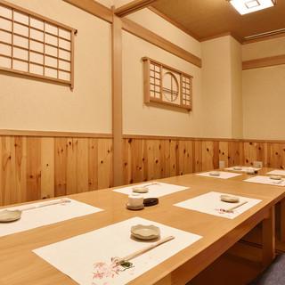 【掘ごたつ個室あり】様々な用途にご利用頂けるテーブル席も完備