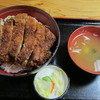 柏屋食堂 - 料理写真:上名代ソースかつ丼(ロース厚切り):1200円