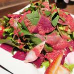 レーベルカフェ OSAKA - 自然の色が美しい【レーベル赤のサラダ】