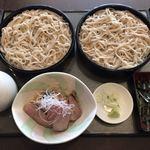 手打そば蒼月 - 料理写真:鴨ざる