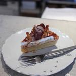 sora cafe 02 - 料理写真:栗とキャラメルナッツのタルト☆