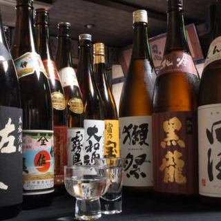 《常時20種類以上》豊富な厳選地酒と旨い酒肴で最高のひと時を