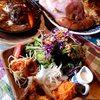 森のcafe - 料理写真:ふたつ合わせてこのボリューム!