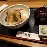 天ぷらと旬の肴 田丸 - 天丼