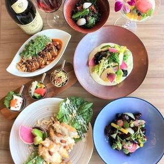 彩り豊かなスタイリッシュ中国料理