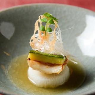 ◇旬菜・旬魚◇地産の食材を使った季節の味に舌鼓◎