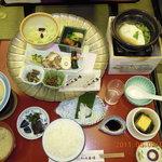 依山楼岩崎 - 朝食・とても美味しかった!