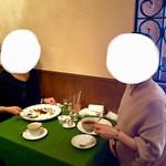 Trattoria Serena - デザートに無料でメッセージを入れてもらいました