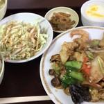 81802841 - 「十宝菜定食」(ご飯大盛り) 830円
