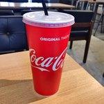 ドラゴンバーガー - ●ゼロ コカ・コーラL400円税込