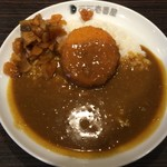 CoCo壱番屋 - ハーフクリームコロッケカレー(カニ入り) 483円
