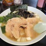 ヤキニクラーメンフタバ - チャシゥメン(チャーシューメン)1,000円は更にお肉イッパイ!