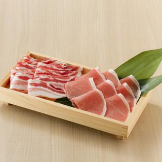 国産豚肉のこだわり