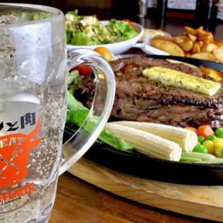 ◆お肉似合う!!ジンと肉!!