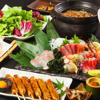 日本三大美味鶏比内地鶏のフルコースを船橋で堪能♪