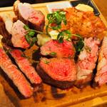 塊肉ビストロBLOCKS - ブロックス塊肉1キロ盛り合わせ