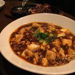 中国酒家 大天門 - 豆豉麻婆豆腐、これもおいしいけどややしょっぱい。